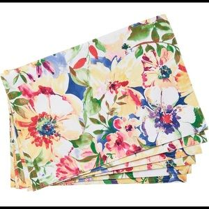 Outdoor Collection Flores Isle Placemats -Set of 6
